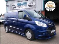 2014 FORD TRANSIT CUSTOM SWB TREND 125BHP DEEP IMPACT BLUE RS STYLE BODY KIT