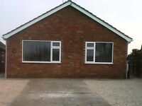Detached Bungalow, 2 Bedrooms, GCH, Double Glazed, Modern Kitchen and Bathroom, Navenby Village