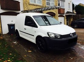 Vw caddy 2013 NO VAT LOW MILES. Price reduced!