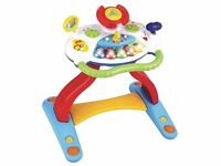 2 in 1 Baby Musical Sounds Activity Centre Push Along Walker