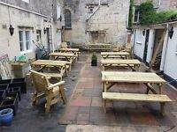 Heavy Duty Picnic Table / Pub Bench Available In 4ft / 5ft / 6ft / 8ft