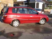 2002 Automatic Kia Carens 2.0 Diesel With Long MOT PX Welcome