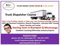 JOIN DISPATCHER COURSE STARTING SOON IN BRAMPTON