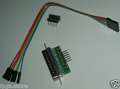 Xpl1 Lpt Jtag Xilinx Buffered Parallel Programmer Cable For Impact Fpga Cpld