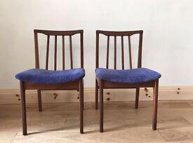 Retro teak chairs