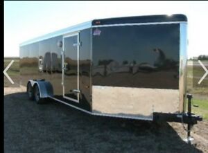 28 ft work trailer