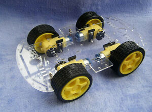 Chassis robot arduino