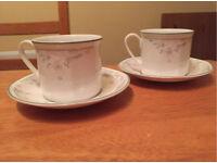 Pristine China Tea Set by Royal Doulton