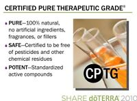 Learn about Therapeutic Grade Essential Oils and get free gift!