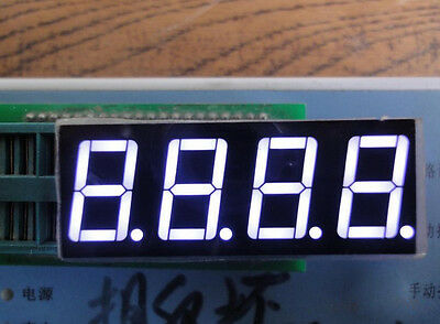 10pcs 0.56 Inch 4 Digit Led Display 7 Seg Segment Common Cathode White 0.56