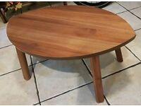 Ikea Stockholm Walnut Side Table