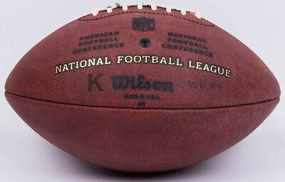 WILSON NFL CHICAGO BEARS? GAME USED K KICKING FOOTBALL