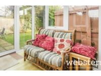 Dovetail cane 2 seater sofa and 2 chairs