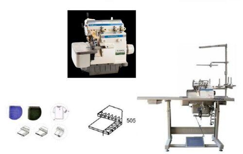 Yamata FY2100-3 Thread Overlock Industrial Serger,servo,table Juki MO-6704S cut
