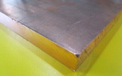 101 Copper Sheet 12 Hard H02 .500 Thick X 12.0 Wide X 12.0 Length