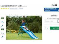 Children's 6 foot wavy slide