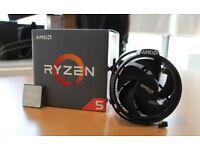 AMD Ryzen 5 1500X - 3.8GHz Quad Core Socket AM4 Processor CPU