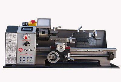 Wm210v-g Metal Lathe Brushless Motor Lathe Machine Stepless Variable Speed
