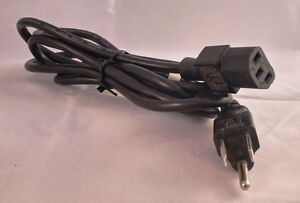 Power Cord Cable PC DEVICE AC 3 PRONG 6 Foot Male to Female Kitchener / Waterloo Kitchener Area image 1