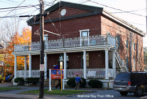 2 Bdrm Unit over Mahone Bay Post Office