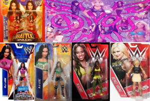 Brand New WWE Diva Figures - Bella Twins Aj Lee Naomi Renee