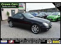 Mercedes-Benz SLK320 3.2 AUTOMATIC CONVERTIBLE BLACK +BEAUTIFUL+