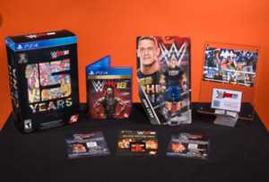 WWE 2K18 Collector's Edition Pre-owned