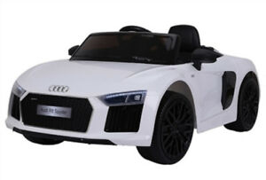 Licensed 12V Audi R8 Spyder Child Ride-On w Doors Remote Music