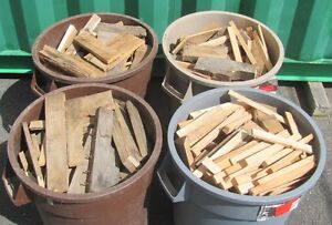 10 cubic feet of Hardwood Firewood in 3 Cans; Louisbourg