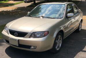 2003 Mazda Protege LX Sedan