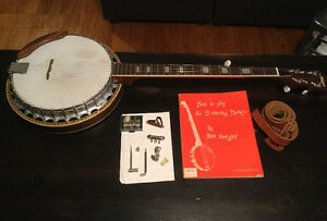 Degas banjo in excellent condition for sale.
