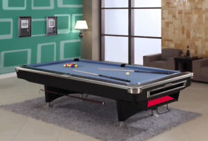 New & Used Pool Tables, including delivery