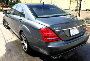 2007 S550 Long, 4MATIC, Panoramic, Night Vision, NAVI,2013 MODEL