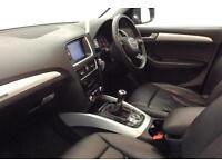 Grey AUDI Q5 4X4 2.0 TDI Diesel QUATTRO S LINE S-T FROM £88 PER WEEK!