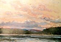 """Limited Edition """"Northland Sunset"""" by Tom Thomson"""
