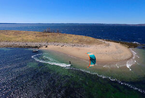 Halifax Kitesurfing - kiteboarding lessons and new / used gear.