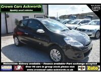 Renault Clio 1.2 16v - Music 3 DOOR BLACK 2010 MODEL + BEAUTIFUL THROUGHOUT