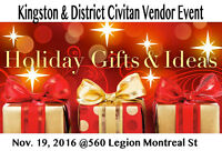 Kingston Civitan's Holiday Gifts & Crafts in Support of Partners