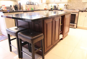 Christmas Sale Kitchen island!!! solid wood cabinet!!