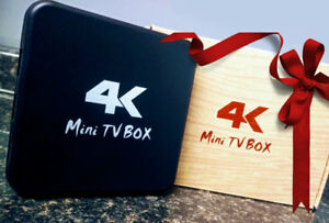 4K Android Boxes (Brand New)