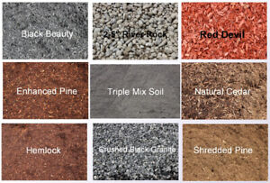 Time to ORDER Mulch, Soil, or Decorative Stone!
