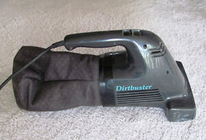 Dirtbuster corded vacuum - with power brush