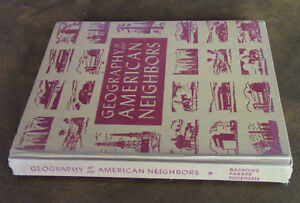 "Old ""Geography of our American Neighbors"" School Book"