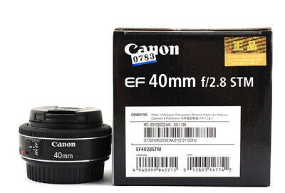 Canon EF 40mm f/2.8 STM Pancake Lens  Mint