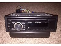 PIONEER DEH-1300mp Car Radio CD Player MP3/WMA/AUX