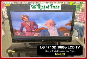 """47"""" 1080p LG TV - King of Trade"""