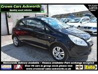 Vauxhall Corsa 1.2i 16v ACTIVE 3 DOOR BLACK 2010 MODEL +BEAUTIFUL