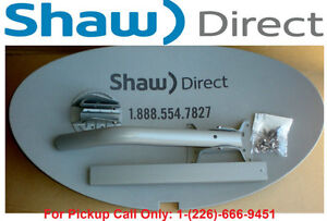 NEW SHAW DIRECT TRIPLE QUAD OUTPUT DISH COMPLETE MOUNTING KIT Kitchener / Waterloo Kitchener Area image 1