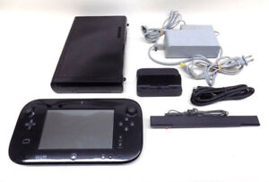 Systemes Nintendo Wii U Noires 32GB a vendre
