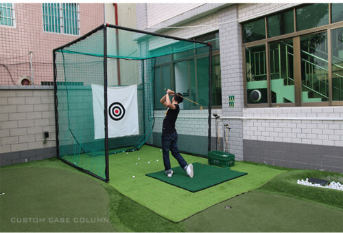 Sports Portable Foldable Golf Hitting Cage Golf Practice Network High Quality